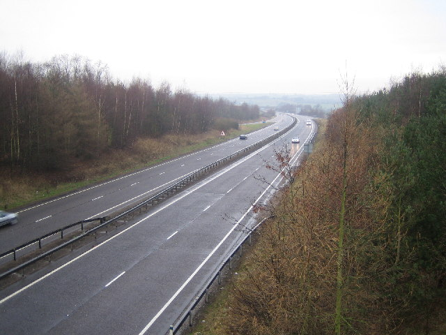 A42(T) on a wet Saturday afternoon