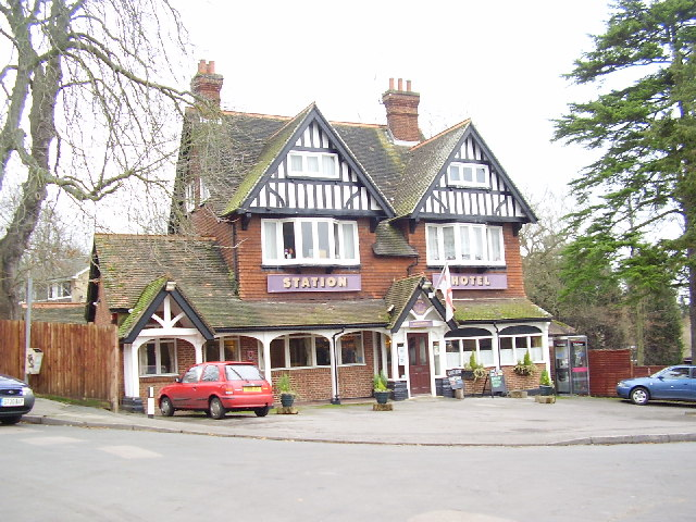 Station Hotel, South Nutfield...looking North East