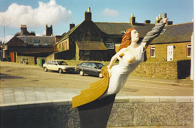 Cutty Sark Statue, Inverbervie
