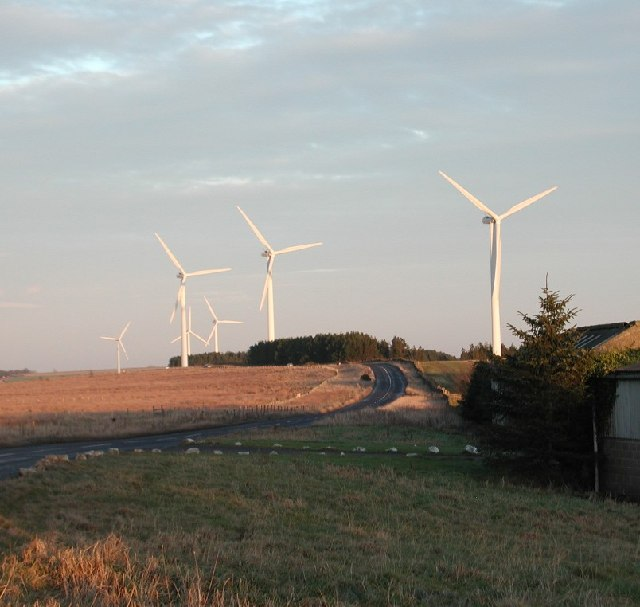 Wind Farm near Tow Law