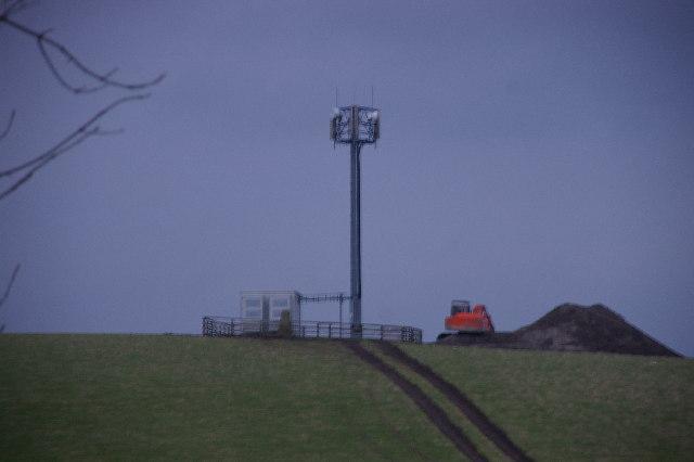 Mast, Coal Pit Lane Gisburn