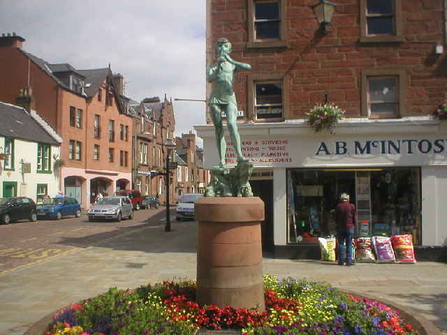 Peter Pan Statue at Kirriemuir