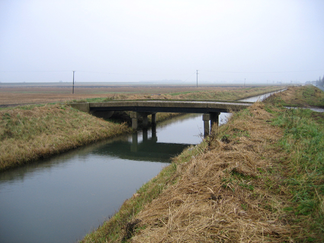 Bridge over the Counter Drain, Tongue End, Lincs