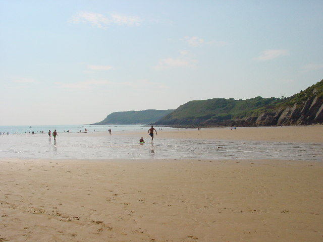 Caswell Bay looking SW