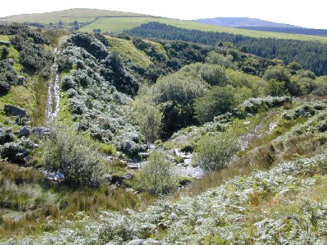 Quarrymans road to Carnedd y Ci