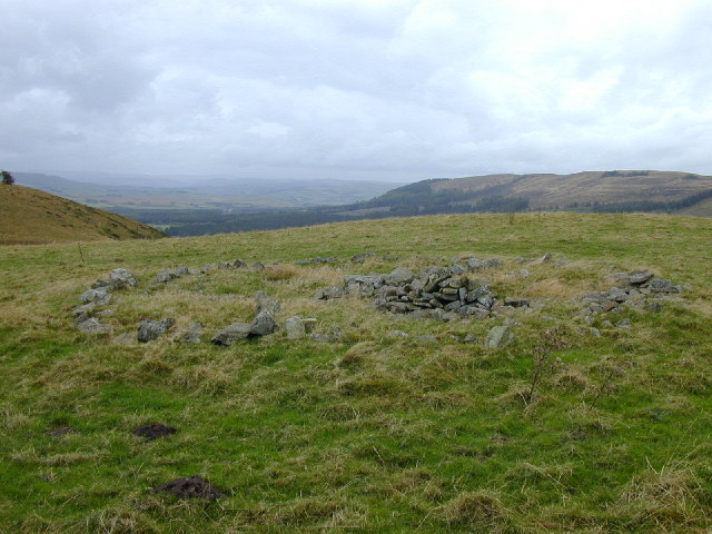 Stone circle adjacent to Fowler's Armchair.
