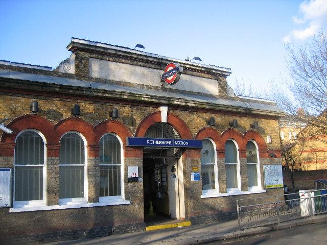Rotherhithe Underground Station