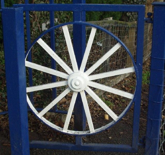 Gate of Troy Hill footpath, Horsforth