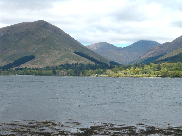 View from Loch Fyne towards Beinn Ime