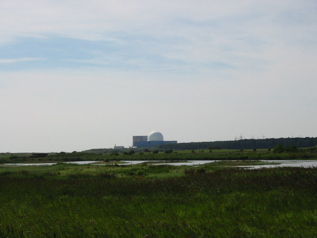Sizewell Nuclear Power Station from Minsmere RSPB