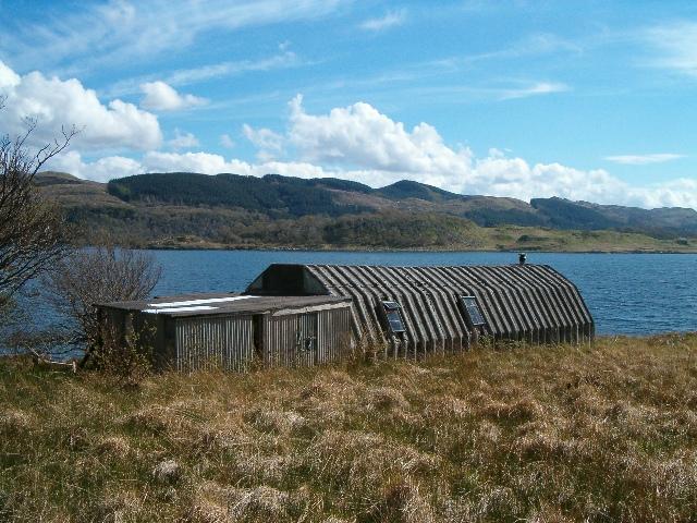 Hut at Bagh Innvraig