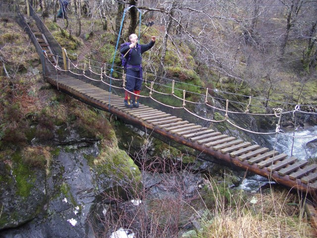 Bridge over Abhainn a Ghlinne Bhig