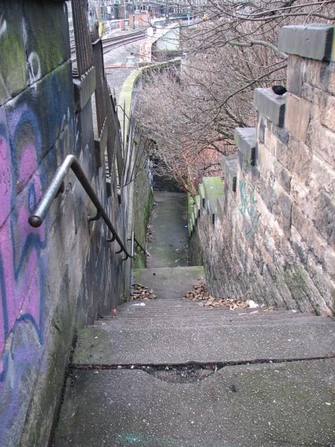 Jacob S Ladder Side Of Building