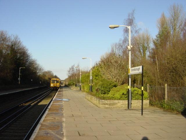 Bromborough Station