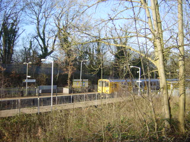 Bromborough Rake Station