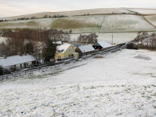 Borthwick village