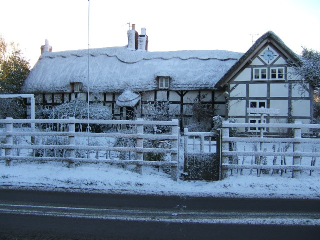 `The Thatch', Holme Lacy