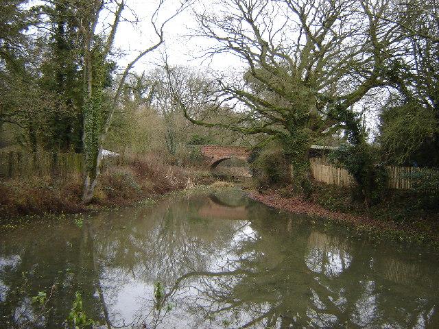 Slade's Bridge, Basingstoke Canal