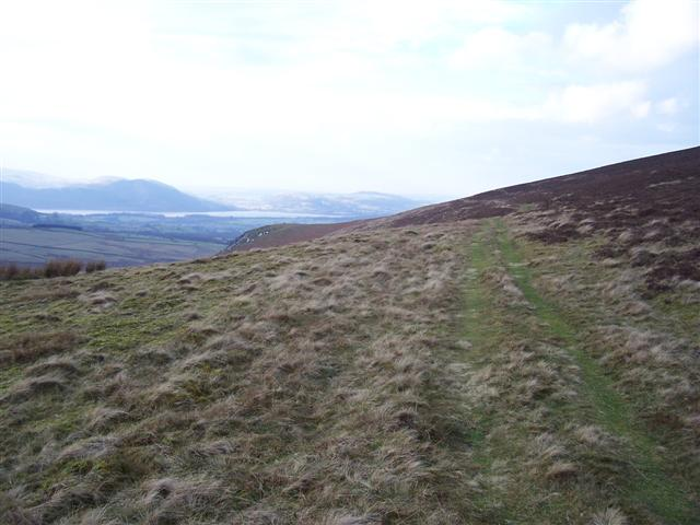 Bridleway above Brocklecrag