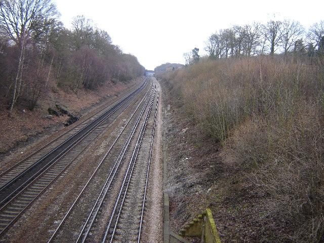 Railway near Newnham