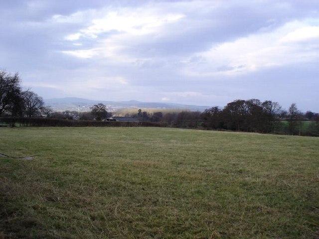 Farmland at Groes Efa