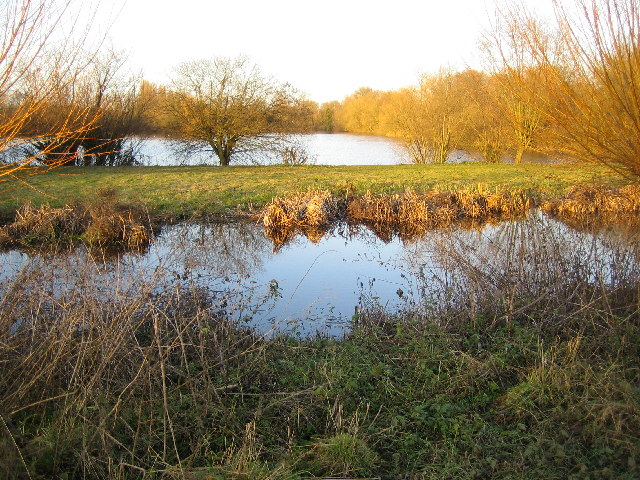 West Hyde: River Colne and former gravel pit
