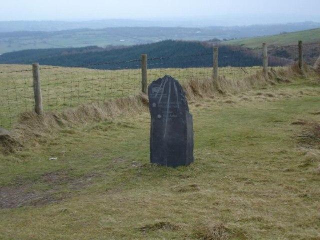 Offa's Dyke signpost
