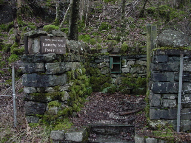 Launchy Ghyll Forest Trail