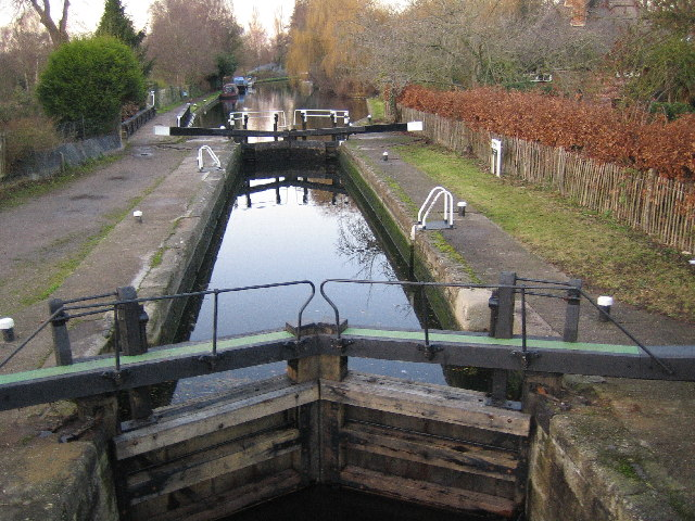 Grand Union Canal: Lock Number 85: Black Jack's Lock