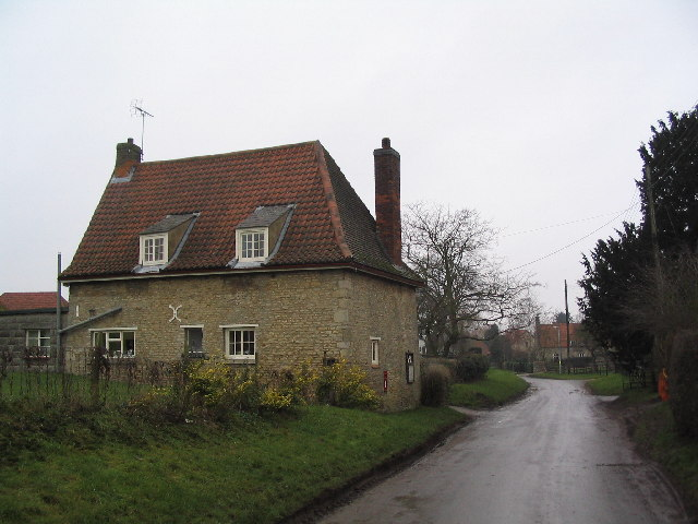 Entrance to village of Bulby
