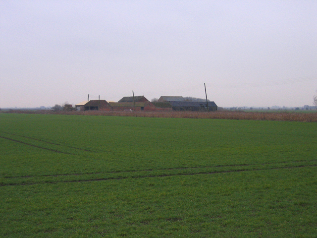 Black Drove Farm, Baston Fen, Lincs