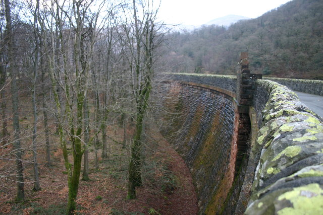 Dam Wall Thirlmere