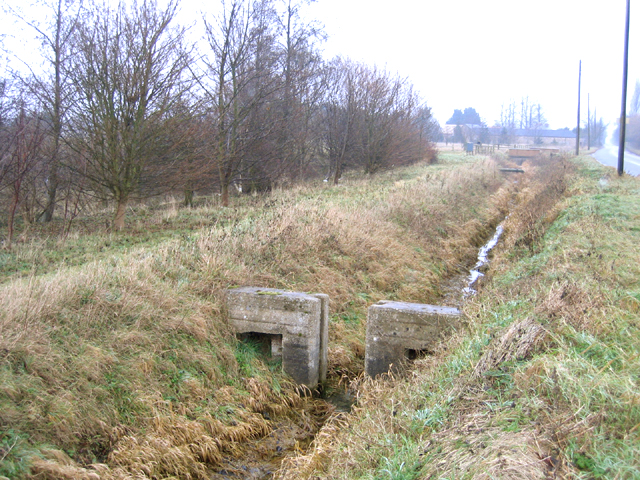 Dyke in Langtoft Fen, Lincs