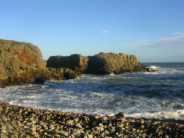 Coastline near Greg Ness