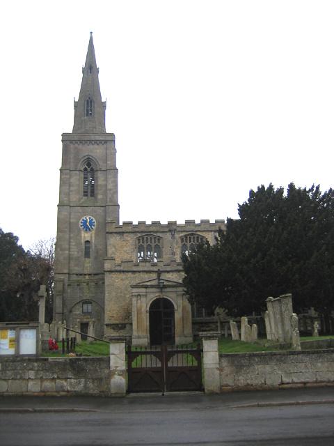 Parish church, Langtoft, Lincs