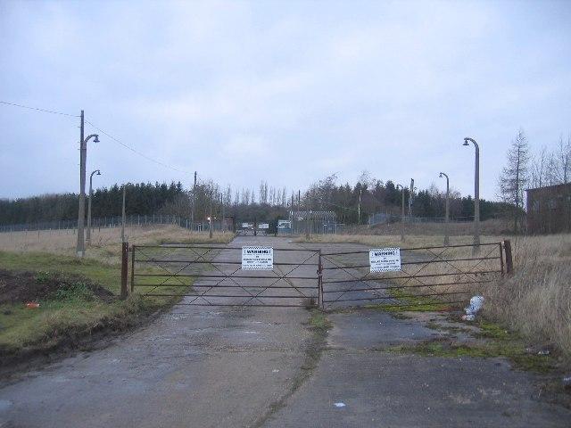Depot at Lighthorne Rough