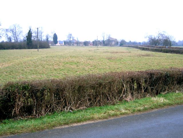 View towards Stowe Farm, Barholm and Stowe, Lincs