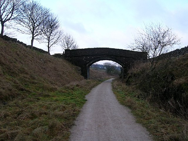 'Railway' Bridge over High Peak Trail