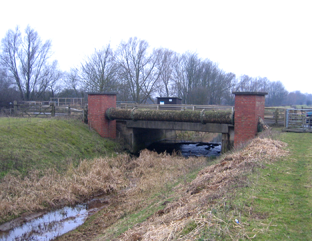 Bridge over Greatford Cut, West Deeping, Lincs