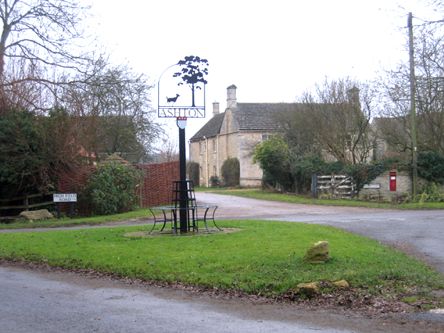 Ashton, Peterborough, village sign