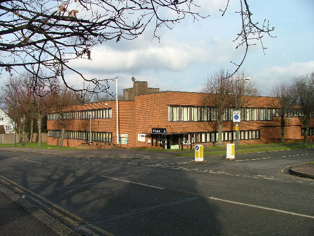 Letchworth Police Station.