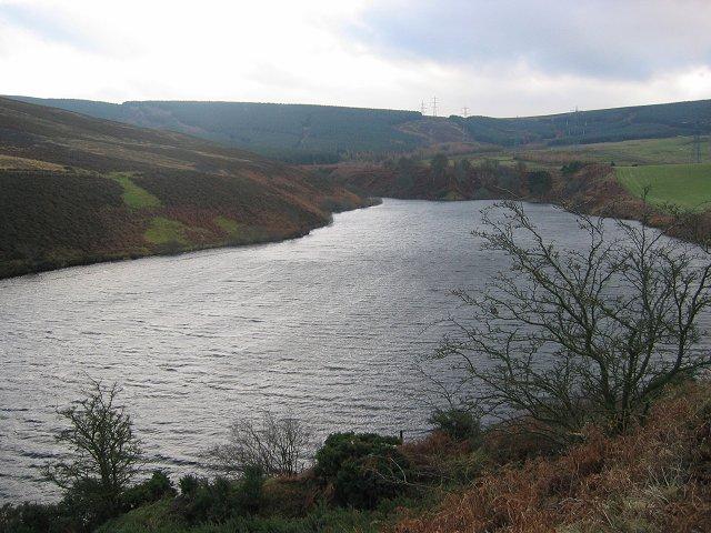 Stobshiel Reservoir.