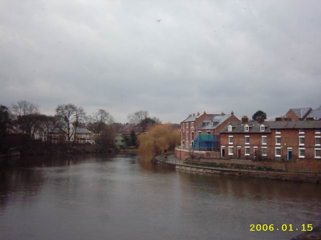River Severn, Taken From The English Bridge