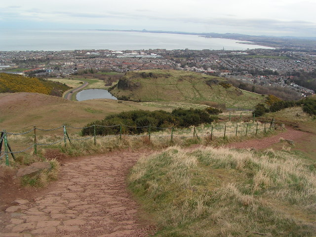 Path on Arthur's Seat