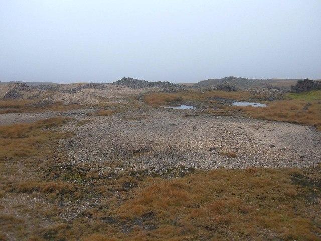 Disused lead mine workings on Grassington Moor