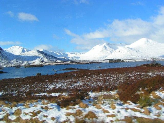 Lochan na h-Achlaise, Rannoch Moor