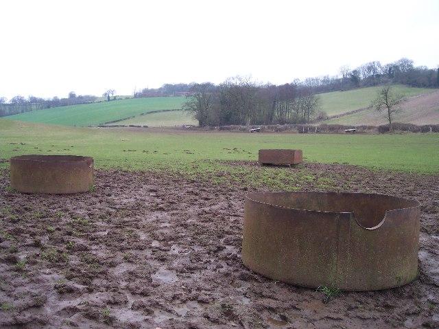 Feeding Troughs, Upper Venn Farm