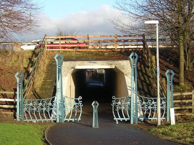 Tunnel Under M74