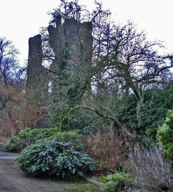 Remains of Netherhall, Roydon, Essex