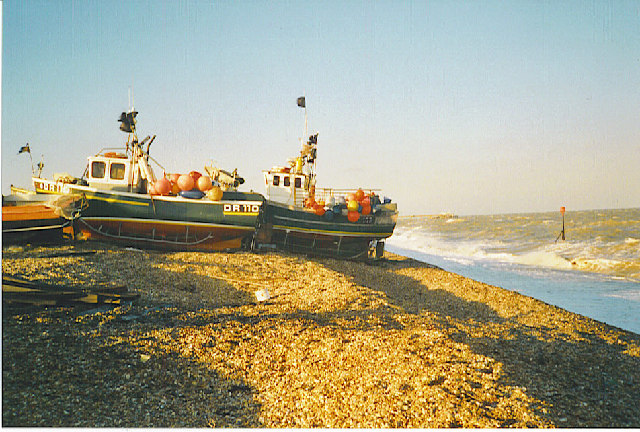 Fishing boat at Deal